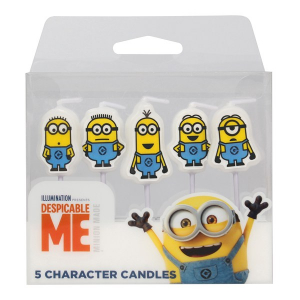 Culpitt Charater Candles - Despicable Me - Minions (Pack of 5)