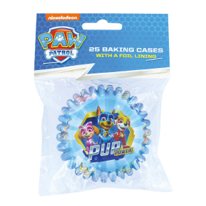 """Culpitt Foil Lined Baking Cases - Paw Patrol """"Pup Power"""" (Pack of 25)"""
