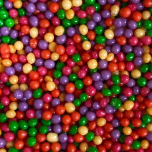 Scrumptious 2mm Polished Sugar Pearls - Circus Mix (80g)