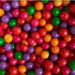 Scrumptious 4mm Polished Sugar Pearls - Circus Mix (80g)