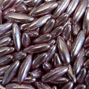 Scrumptious High Shine Jumbo Rice - Metallic Rose Gold (80g)