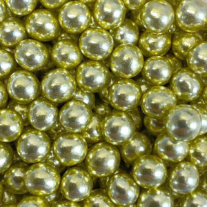 Scrumptious Mini Crispy Chocoballs - High Shine Gold (70g)