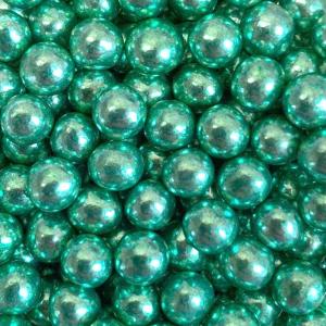 Scrumptious Mini Crispy Chocoballs - High Shine Green (70g)