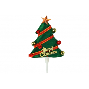 Doric Christmas Tree Cake Pick