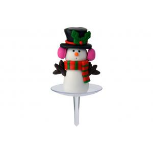 Doric Claydough Snowman Pick