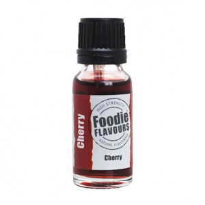 Foodie Flavours - High Strength Flavouring - Natural Cherry (15ml)