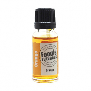 Foodie Flavours - High Strength Flavouring - Natural Orange (15ml)
