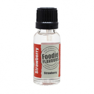 Foodie Flavours - High Strength Flavouring - Natural Strawberry (15ml)