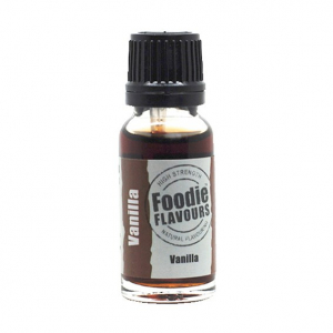 Foodie Flavours - High Strength Flavouring - Natural Vanilla (15ml)
