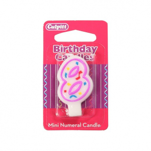 Culpitt Mini Party Candle - 8