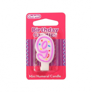 Culpitt Mini Party Candle - 9