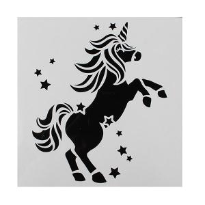 Cake Star Stencil - Unicorn