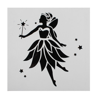 Cake Star Stencil - Fairy