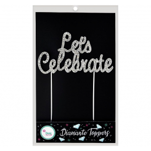 Doric Diamante Topper - Let's Celebrate - Silver