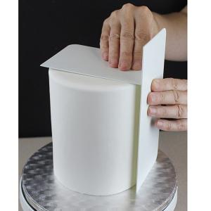 "PME Tall Side Scraper - Plain Edge - Plastic (10"")"