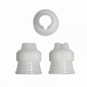 PME Icing Bag Adaptor / Piping Nozzle Coupler (Set of 3)