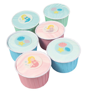 Cake Star Wafer Decoration - Mermaid (Pack of 12)