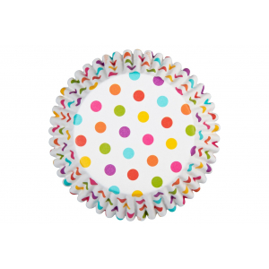 Wilton Baking Cases - ColourCups - Rainbow Dots (Pack of 36)