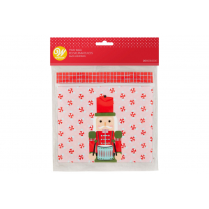 Wilton Resealable Treat Bags - Nutcracker (Pack of 20)