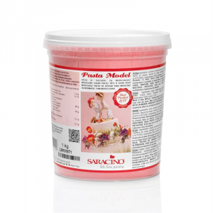 Saracino Modelling Paste (Pasta Model) - Rose / Light Pink (1kg)