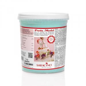 Saracino Modelling Paste (Pasta Model) - Tiffany Blue (1kg)