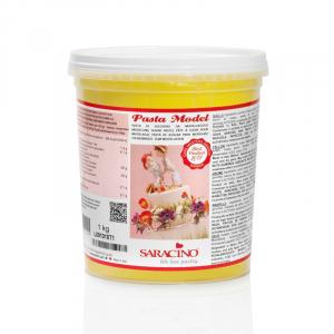 Saracino Modelling Paste (Pasta Model) - Yellow (1kg)