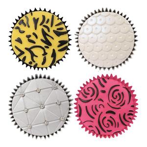 Cake Star Texture Mats - Fashion (Set of 6)