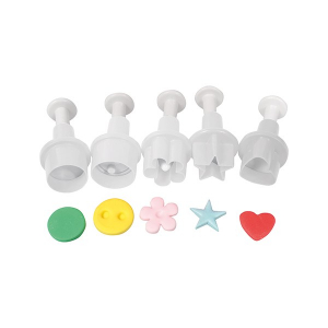 Cake Star Mini Plunger Cutters (Set of 5)