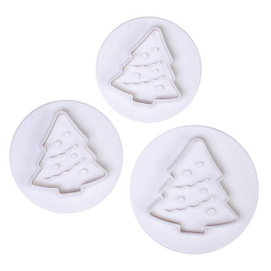 Cake Star Plunger Cutter - Christmas Tree (Set of 3)