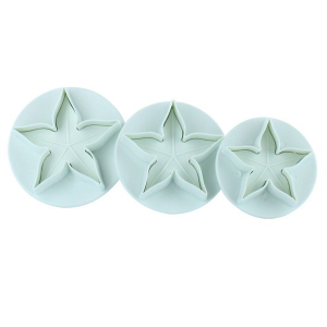 Cake Star Plunger Cutter - Calyx (Set of 3)