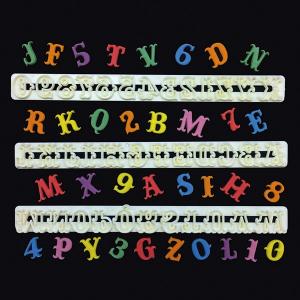 FMM Cutter Set - Alphabet Upper Case & Number - CARNIVAL