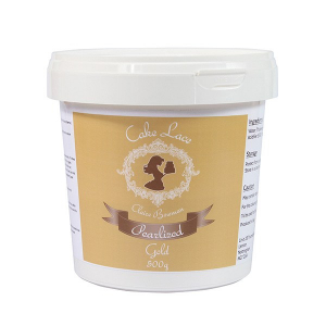 Cake Lace - Pearlised Gold (500g)