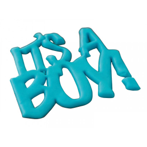 FMM Cutter - Curved Words - It's A Boy