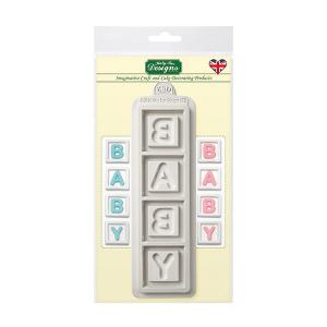 Katy Sue Designs Mould - Baby Blocks