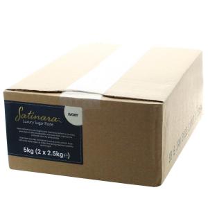 Satinara Luxury Sugar Paste - Ivory (2 x 2.5kg)