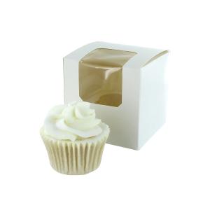 Culpitt Cupcake Box / 1 Cavity - White (Pack of 25)