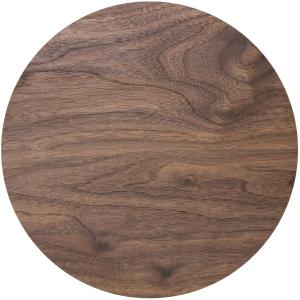 "Masonite Cake Board : 4mm - Round - Wood Effect - 10"""