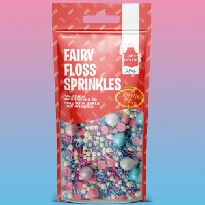 Cake Décor Stunning Sprinkles - Fairy Floss (50g)