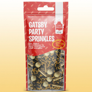 Cake Décor Stunning Sprinkles - Gatsby Party (50g)
