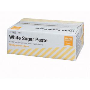 Bako Select Sugar Paste - White (2 x 2.5kg)