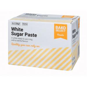 Bako Select Sugar Paste - White (4 x 2.5kg)