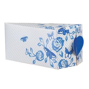 House of Cake Cake Slice Box - China Blue (Pack of 10)