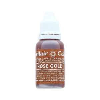 Sugarflair Sugartint Droplet Colour - Rose Gold (14ml)