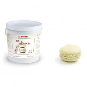 Pavoni Macaron Mix - White (500g)
