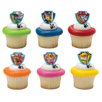 DecoPac Cake Ring Decoration - PAW Patrol™ - Ruff Ruff Rescue (Pack of 144)