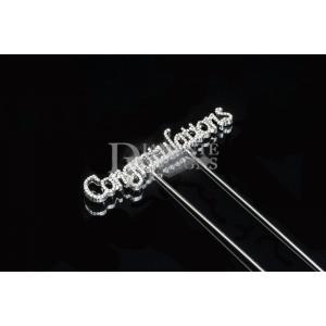 Diamante Designs Pick - Congratulations - Small