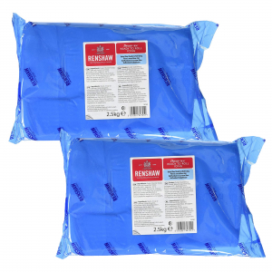 Renshaw Decor-Ice Ready To Roll Icing - Baby Blue (2 x 2.5kg)