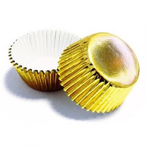 PME Mini Baking Cases - Foil - Gold (Pack of 45)