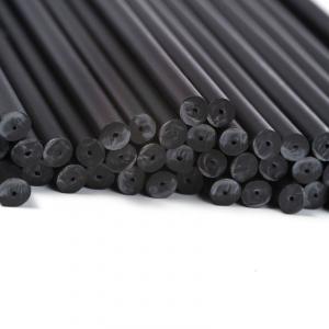 Plastic Lollipop Sticks - Black - 150mm (Pack of 50)
