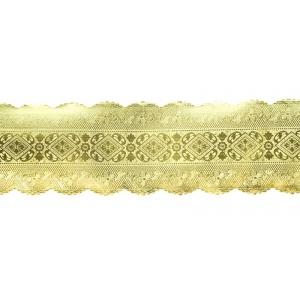 Culpitt Embossed Foil Banding - Gold - 64mm x 100m